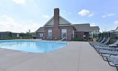 Pool, Brookfield Village Apartments, 2
