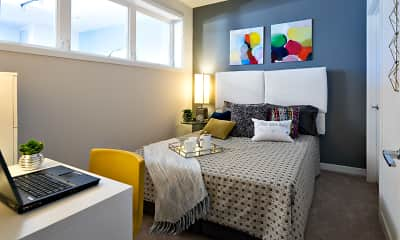 Bedroom, 1200 Manor Residence, 1