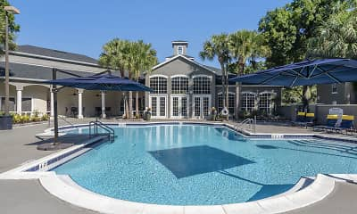 Pool, The Summit at Metrowest Apartments, 2