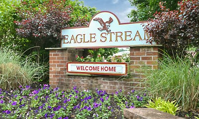 Community Signage, Eagle Stream Apartments, 2