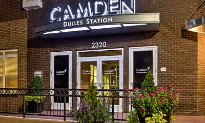 Community Signage, Camden Dulles Station, 2