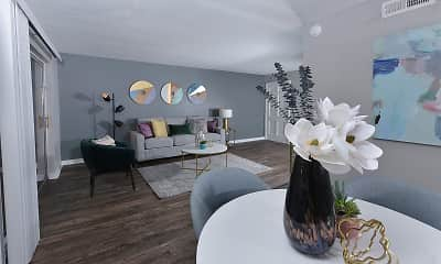 Dining Room, Watermarc Apartments, 1