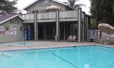 Pool, Country Club Villas, 1