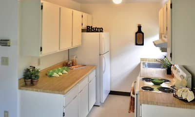 Kitchen, Water Gap Village Townhomes, 1