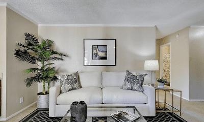 Living Room, Silver Oaks, 1