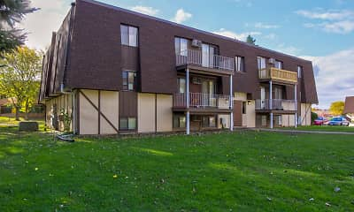 Building, Pine Grove Apartments, 0