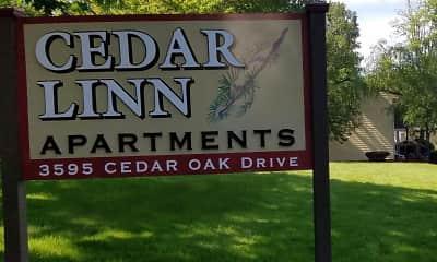 Community Signage, Cedar Linn, 2
