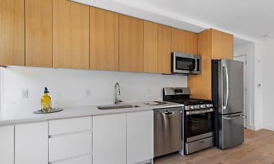 Kitchen, 231 32nd Street Apartments, 0