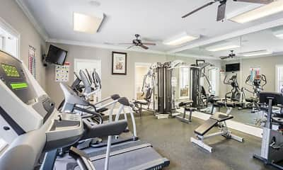 Fitness Weight Room, Alta Shores, 2