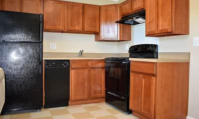 Kitchen, Greenwood Farms Apartments, 1