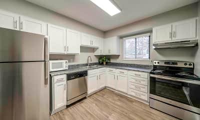 Kitchen, Arbors at North Hills, 1