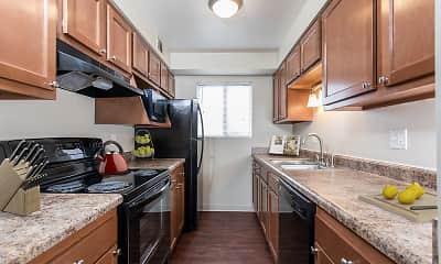 Kitchen, Crossroads Apartments, 0