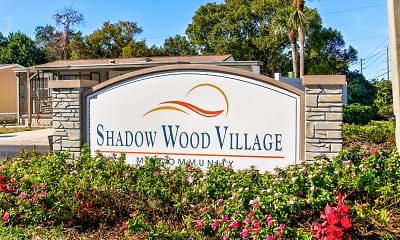 Community Signage, Shadow Wood Village, an Active 55+ Community, 2