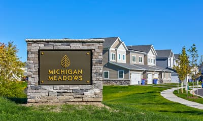 Community Signage, Michigan Meadows Townhomes, 0