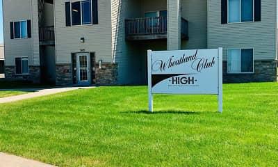 Building, Wheatland Club, 2