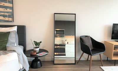 Bedroom, 10 Clay Apartments, 2