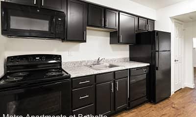 Kitchen, Metro Apartments at Bethalto, 2