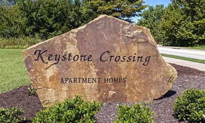 Community Signage, Keystone Crossing, 1