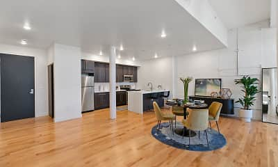 Dining Room, 2 River Street, 1