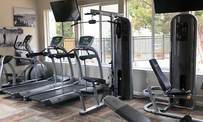 Fitness Weight Room, Edgewater at Virginia Lake, 2