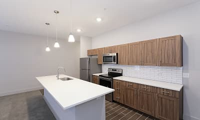 Kitchen, Market Lofts, 0