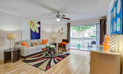 Living Room, Gables CityScape, 1