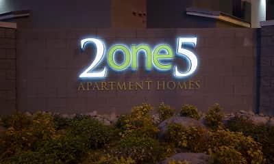 Community Signage, 2one5, 1