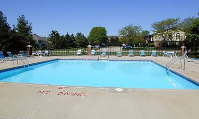 Pool, Wood Creek Apartments, 2