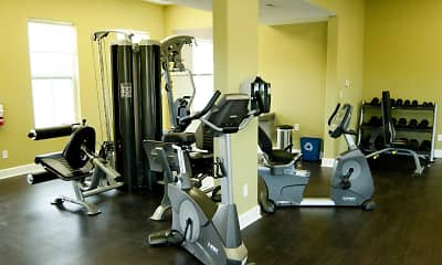 Fitness Weight Room, West Field Place Apartments and Castle Rock Homes, 2
