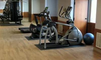 Fitness Weight Room, Harvard Court, 1