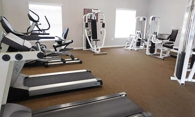 Fitness Weight Room, Compton Place At Tampa Palms, 2