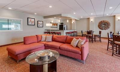 Living Room, Como Park Apartments, 0