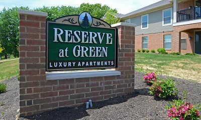 Community Signage, The Reserve at Green Luxury Apartments, 2