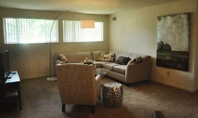 Living Room, Quail Run Of Columbus, 1