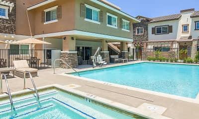 Pool, Coastal Living at San Marcos 55+, 2