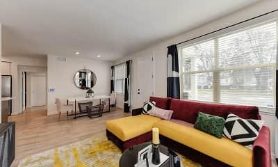 Living Room, Morgan Ranch Apartment Homes, 1
