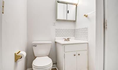 Bathroom, Anna Laura Apartments, 2