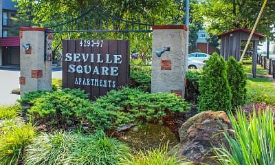Community Signage, Seville Square, 0