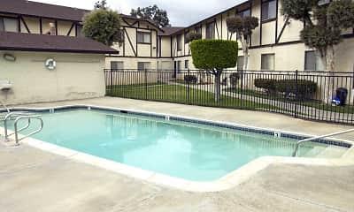 Pool, Doriana Apartments, 0