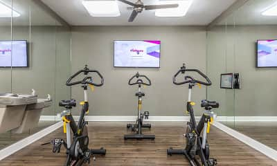 Fitness Weight Room, Art Avenue Apartments, 2