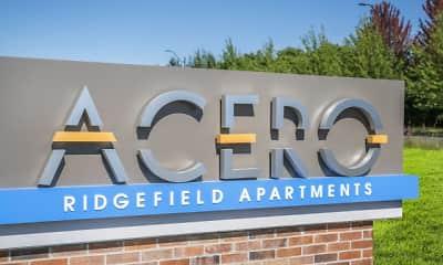 Community Signage, Acero Ridgefield, 1
