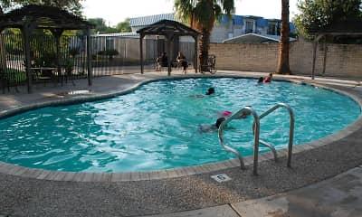 Pool, Camino Del Rey Apartments, 0