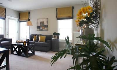 Living Room, Autumn Hills, 1