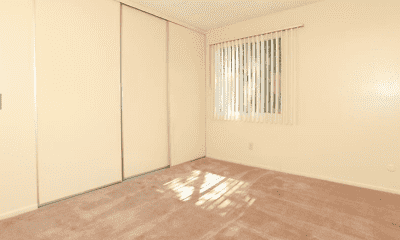 Bedroom, Mission Terrace Apartments, 0