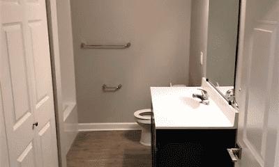 Bathroom, Pleasant View Apartments, 2