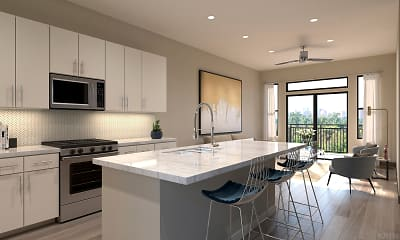 Kitchen, Broadstone Memorial Park Apartment, 0