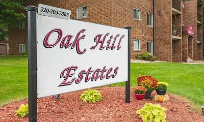 Community Signage, Oak Hill Estates, 0