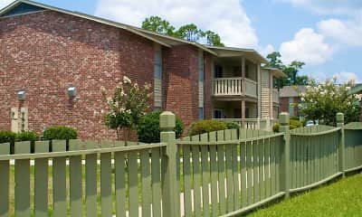 Building, The Oaks, 1