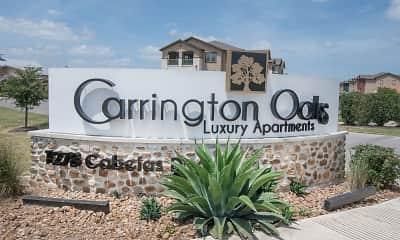 Community Signage, Carrington Oaks, 1