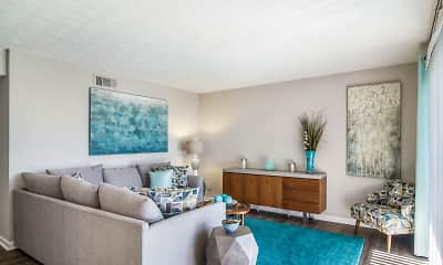 Living Room, Laurel Pointe, 1